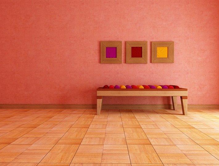 Color Salmón en decoraciónes